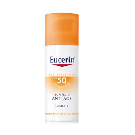 Eucerin Sun Anti-age napozókrém arcra FF50 50ml