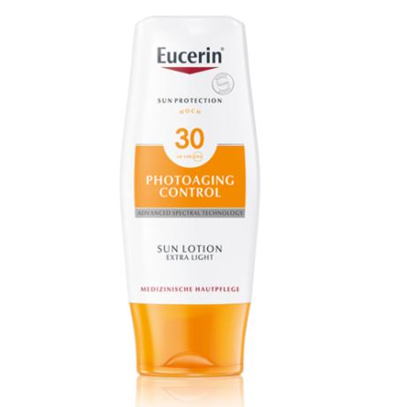 Eucerin Sun bőrfeszesítő naptej testre FF30 150ml