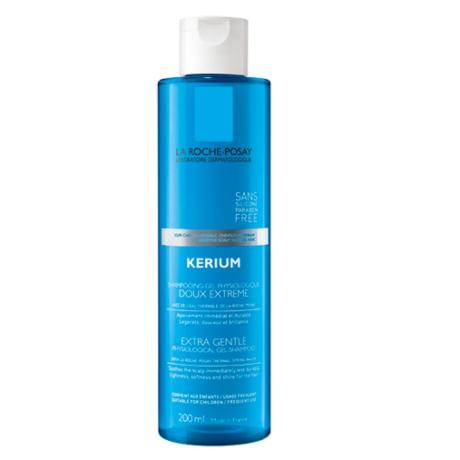 La Roche-Posay Kerium fiziológiás sampon érzékeny fejbőrre 200 ml