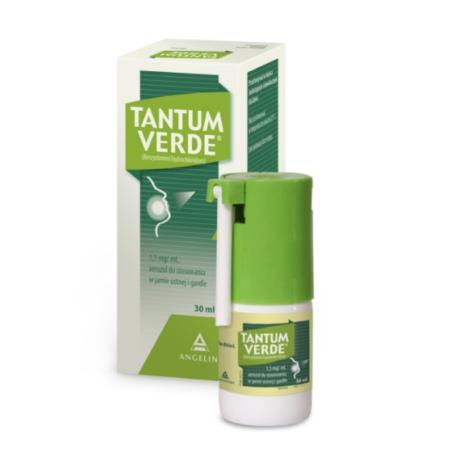 Tantum Verde 1,5 mg/ml szájnyálkahártyán alkalmazott spray 30ml