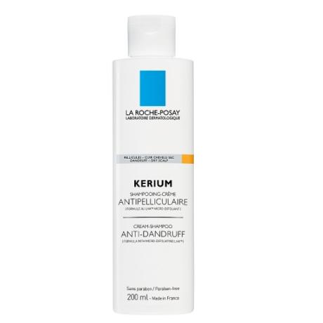 La Roche-Posay Kerium krém-sampon korpásodás ellen száraz fejbőrre 200 ml