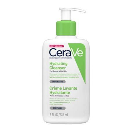 CeraVe Hidratáló tisztító krém normál és száraz bőrre 236ml