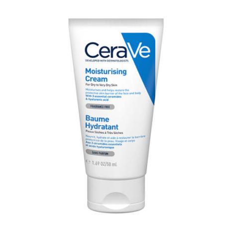 CeraVe Hidratáló krém arcra és testre, száraz vagy nagyon száraz bőrre 50ml