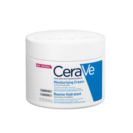 CeraVe Hidratáló krém arcra és testre, száraz vagy nagyon száraz bőrre 340 g