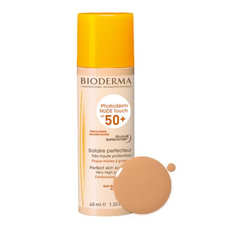 BIODERMA Photoderm Nude Touch SPF 50+ 40ml Golden