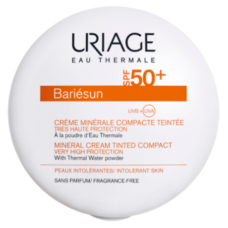 Uriage BARIÉSUN kompakt púder SPF50+ sötét árnyalat (Gold) 10g