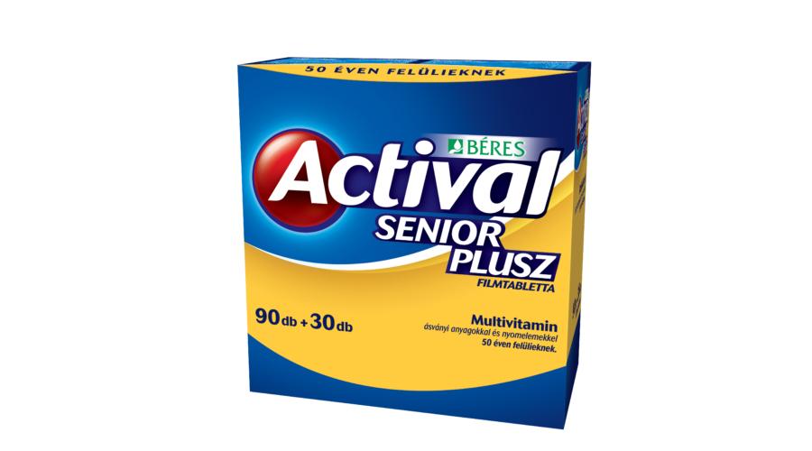 Béres Actival Senior plusz filmtabletta 90x+30x - Béres..